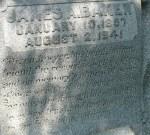 Glenwood Cemetery, James A. Baker