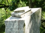 Iconography: Closed Book, Glenwood Cemetery