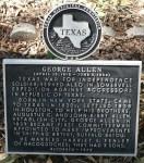 Founders' Memorial, George Allen