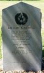 Founders' Cemetery, William Gammell