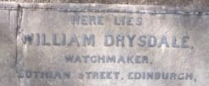 Watchmaker - Drysdale
