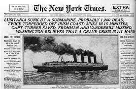 Lusitania in New York Times