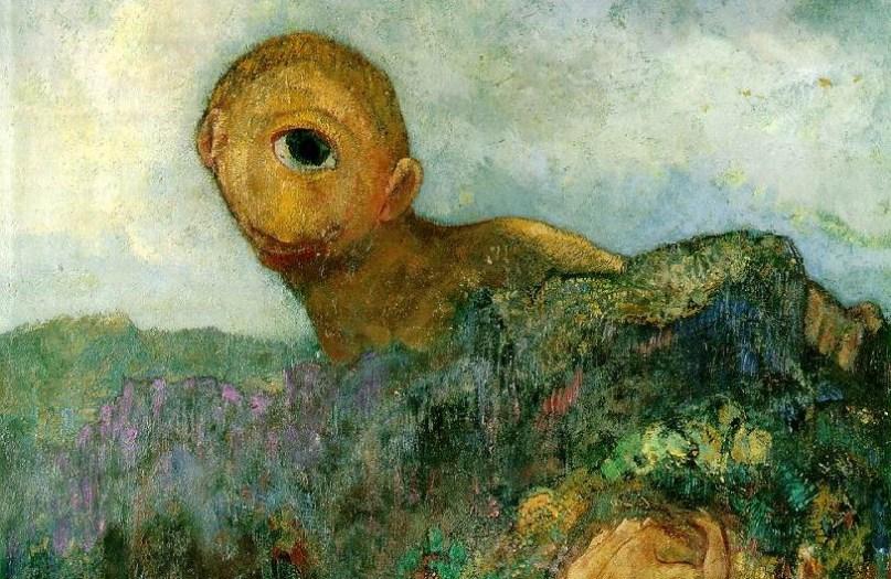 Odilon Redon (1840-1916) Le Cyclope