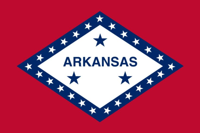 Vlag van Arkansas