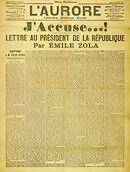 J'Accusse van Emile Zola
