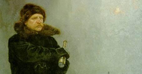 Adolf Erik Nordenskiöld (1832-1901). Schilderij van Georg von Rosen