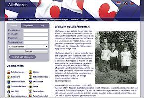 Friese registers Burgerlijke Stand online