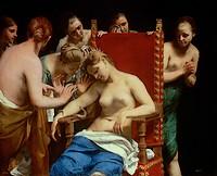 Dood van Cleopatra (Guido Cagnacci)
