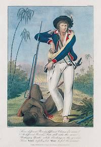 Soldaat bij een overmeesterde Marron (John Gabriel Stedman, 1792)