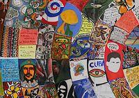 Salón de Mayo,'Cuba colectiva Mural, 1967 / detail (© Museo Nacional de Bellas Artes, Havana)