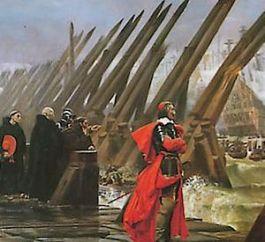Richelieu bij het Beleg van La Rochelle