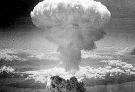 Paddenstoelwolk boven Nagasaki, 1945