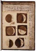 Maantekeningen van Galileo Galilei