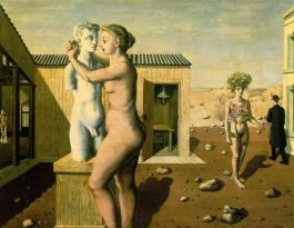 Paul Delvaux – Pygmalion