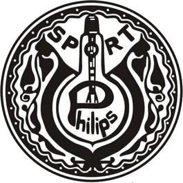 Het eerste logo van PSV