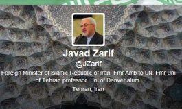 Twitter-account van Javad Zarif