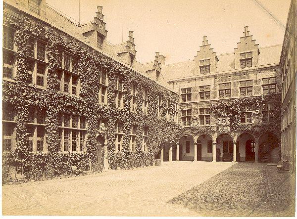 Het Plantin-Moretusmuseum in de 19e eeuw