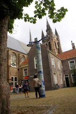 Entree van Museum Het Prinsenhof