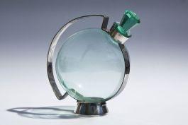 Copier Gero likeurkaraf - Andries Dirk Copier, 1930 (Nationaal Glasmuseum)