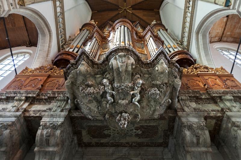 Onderbouw van het Vater Muller-orgel (Wim Hanenberg)