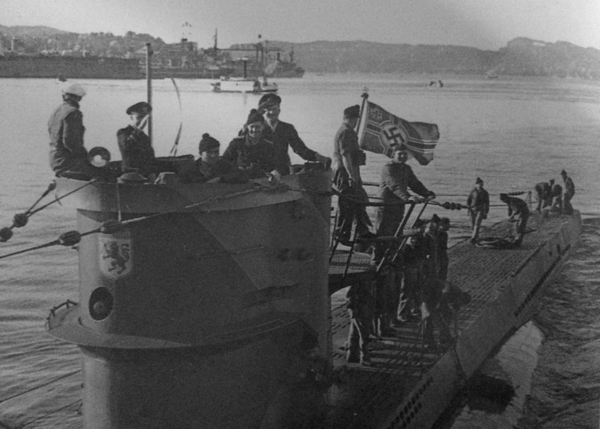 Bemanning van de U-576 (Ed Caram)