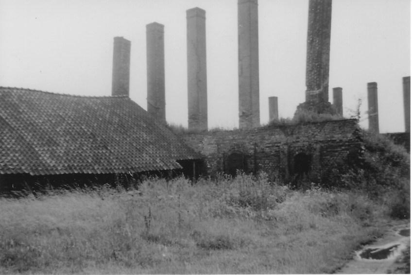 Kamp Rees was een voormalige dakpannenfabriek.
