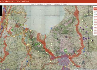 Archeologische kaart militair erfgoed