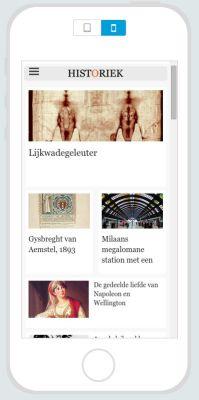 Geschiedenis app van Historiek