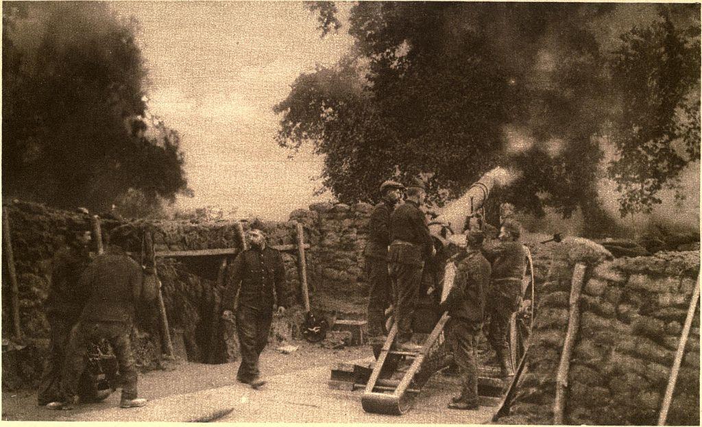Het ontstaan van de Eerste Wereldoorlog