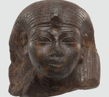 Egyptisch beeldje uit tijd van farao Amenhotep III (1391-1353 v.Chr.) Foto: Rijksmuseum van Oudheden
