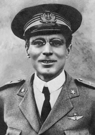 Umberto Nobile in de jaren 1920. Bron: Wikimedia