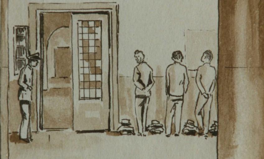 Gevangenis in oorlogstijd: gevangenis Wolvenplein