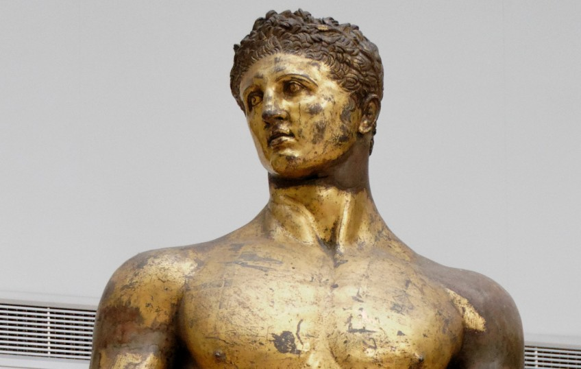 De held Herakles (Hercules) en zijn twaalf werken