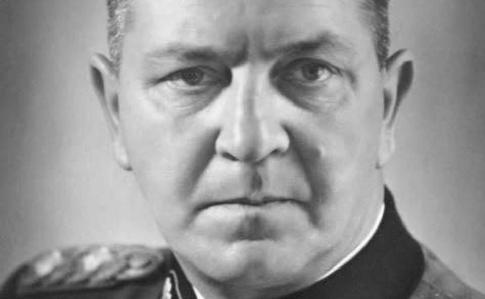 Theodor Eicke, oprichter van de SS-Totenkopfdivisie