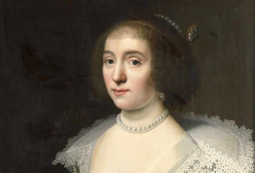Amalia van Solms, door Wybrand de Geest (1655)