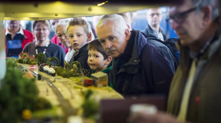 Spoorwegmuseum toont mooiste modelbanen van Europa (Spoorwegmuseum)