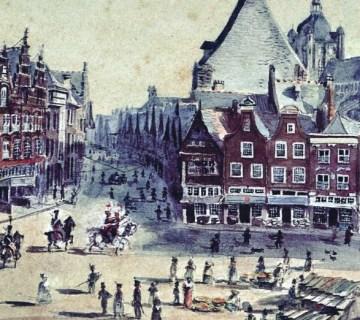 Executie van een vrouw in 's-Hertogenbosch in 1820