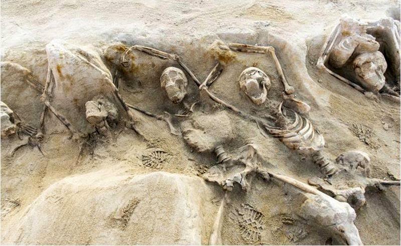 Gevonden massagraf gelinkt aan mislukte coup uit 632 voor Christus (Grieks Ministerie van Cultuur)