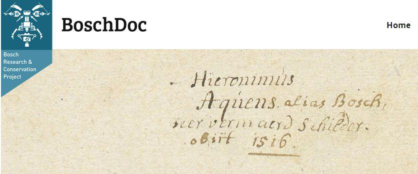 Alles over Jheronimus Bosch in één database
