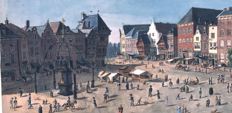 Zwitserse militair schetst 's-Hertogenbosch, 1815-1824