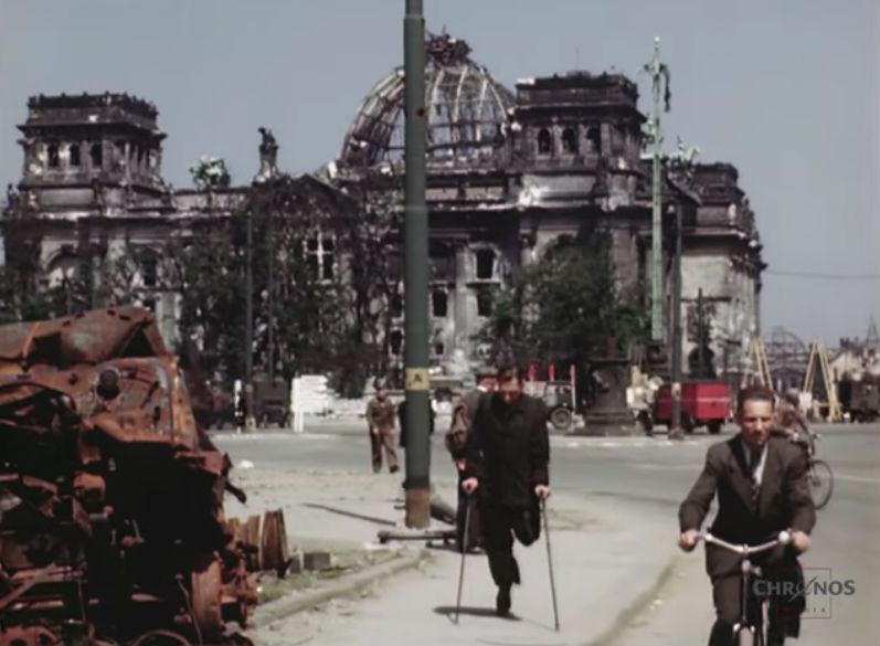Beelden van een verwoeste stad | Berlijn, juli 1945