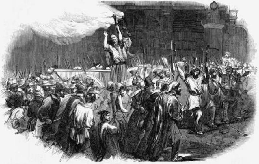 Onrust in het revolutiejaar 1848