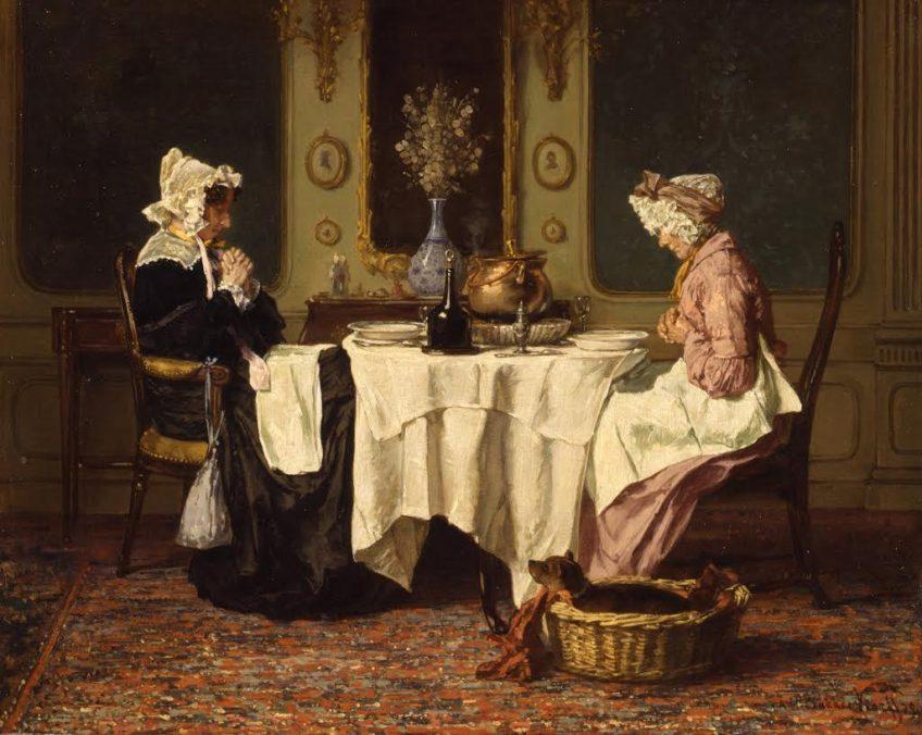 Alexander Hugo Bakker Korff, Drie oktober feest, 1879, Dordrechts Museum.