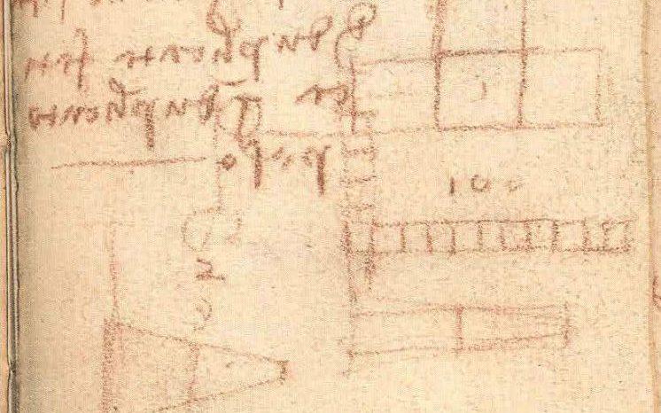 De notities in het schetsboekje (V&A Museum)