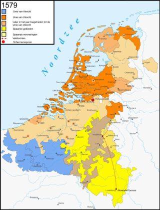 De Unies van Utrecht en Atrecht, 1579