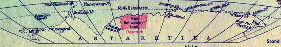 Nieuw-Zwabenland, een stukje nazi-Duitsland in Antarctica