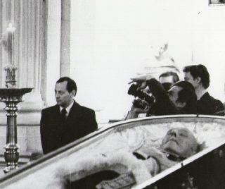Franco na zijn overlijden - cc