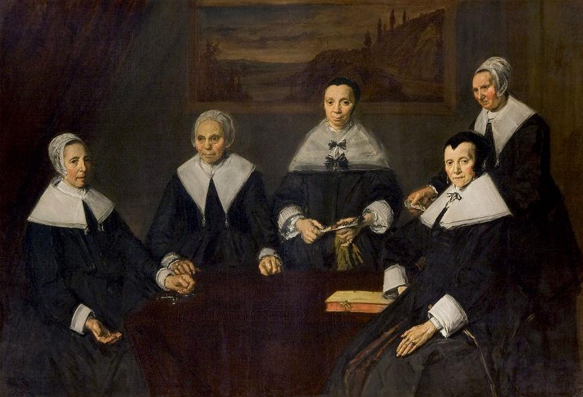 De regentessen van het Oudemannenhuis, Haarlem