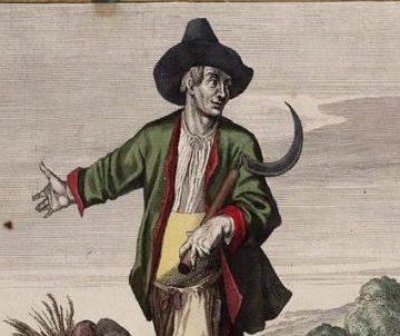 Casper Luyken, Augustus, 1700. Collectie Amsterdam Museum, A 44735