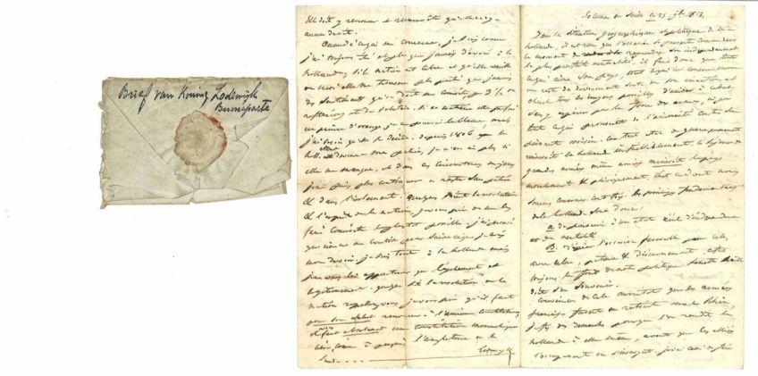 CBG - Brief van Lodewijk Napoleon Bonaparte